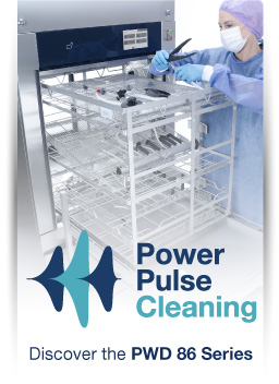 Power pulse cleaning