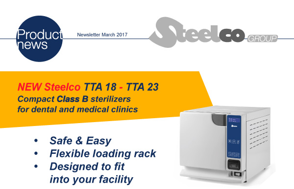 NEW PRODUCTS STEELCO