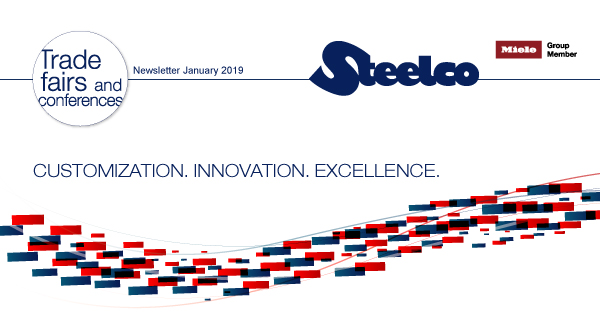 Steelco at ARAB HEALTH 2019 - Your invitation to innovation